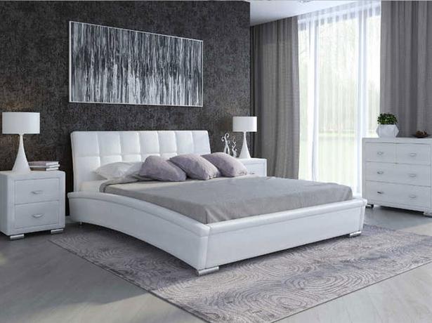 Белая кровать Corso 1 (Samoa)