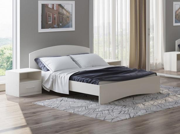 Кровать Этюд белый