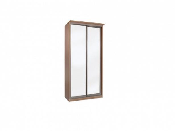 Купить шкаф купе Элит 2-х дверный с зеркалами