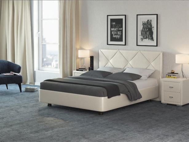 Кровать Rocky 1 крем